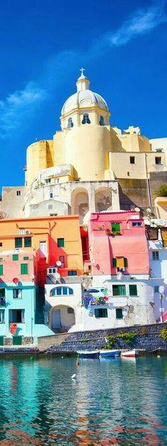 .~Procida Naples, Italy~. @adeleburgess