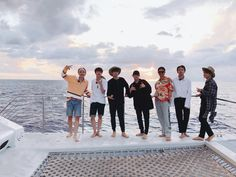 BTS Hawaii vacation after the WINGS TOUR April 2017