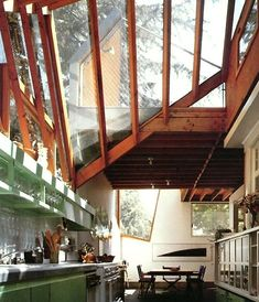 Deconstructed Interior Space of Gehry House by Frank Gehry