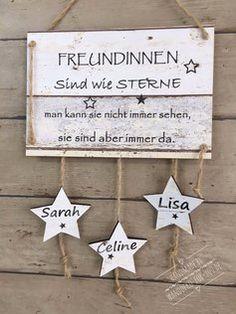 Freunde/innen sind wie Sterne....mit Sterne & Namen