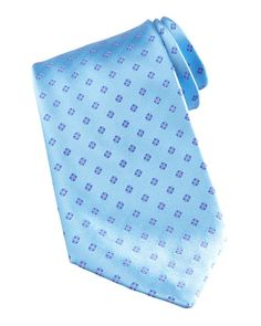 $225, Mini Flower Silk Tie Light Blue by Stefano Ricci. Sold by Neiman Marcus. Click for more info: http://lookastic.com/men/shop_items/88599/redirect