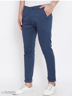 Trousers Trendy Stylish Cotton Men's Trousers Fabric: Cotton Waist Size: 28 in, 30 in, 32 in, 34 in, 36 in Length: Up To 40 in Type: Stitched Color: Navy Blue Description: It Has 1 Piece Of Men's Trouser Sizes Available: 28, 30, 32, 34, 36 *Proof of Safe Delivery! Click to know on Safety Standards of Delivery Partners- https://ltl.sh/y_nZrAV3  Catalog Rating: ★4 (1846)  Catalog Name: Trendy Stylish Cotton Men's Trousers Vol 15 CatalogID_555091 C69-SC1212 Code: 364-3938701-