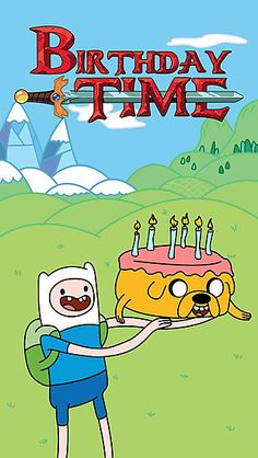 Birthday Time - Adventure Time Celebrations