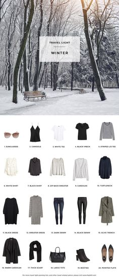 Winter Packing List On A Budget                                                                                                                                                                                 More