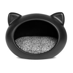 Cat Bed Black, 82€, now featured on Fab.
