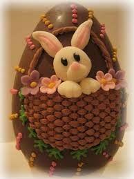 uova di pasqua decorate con pasta di zucchero - Cerca con Google