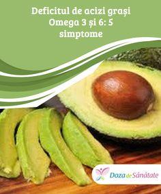 Deficitul de acizi grași #Omega 3 și 6: 5 #simptome  Omega 3 și Omega 6 sunt doi acizi grași pe care organismul nu îi poate #produce, însă de care are nevoie pentru a îndeplini anumite funcții importante. Dacă există un deficit, corpul tău îl va resimți. Află cum din #articolul de față! Omega 3, Diabetes, Cellulite, Cantaloupe, Smoothies, Asthma, Vitamins, Mango, Healthy Recipes