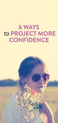 how to seem confident #lifestyle .ambassador