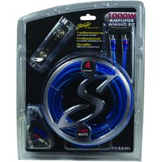 Stinger Select Select Wiring Kit With Ultraflexible Copper-clad Aluminum Cables (4 Gauge)