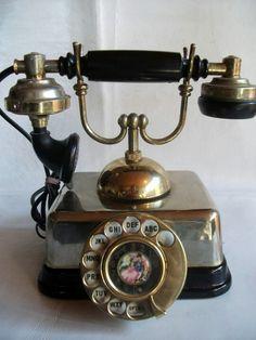 Telefono de los 40s deco art