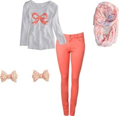 """""""Bow Outfit"""" by jenna-ulrich on Polyvore"""