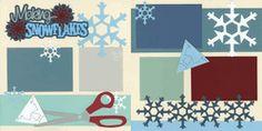 Making Snowflakes Page Kit
