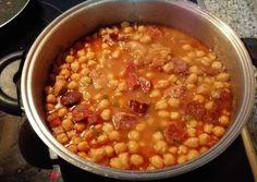 Photo Good Food, Yummy Food, Sin Gluten, Chana Masala, Crockpot, Favorite Recipes, Pasta, Vegetables, Cooking