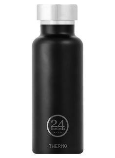 24Bottles Thermo Bottle Tuxedo Black - 24Bottles