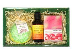 """Zestaw kosmetyków """"Juicy fruit"""" w Subtle Beauty na DaWanda.com #niezchinzpasji"""
