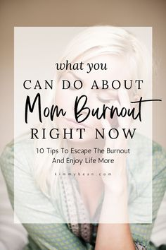 This post has my top 10 tips to help moms escape the burnout and enjoy life more. #momlife #motherhood #workingmoms #stayathomemoms Parenting Quotes, Parenting Advice, Guilt Quotes, Caring For Mums, Mom Schedule, Mom Hacks, Mom Quotes, What You Can Do, Working Moms