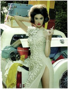 *Extravagant, Sophisticated Lady* Vogue Italia September 2011