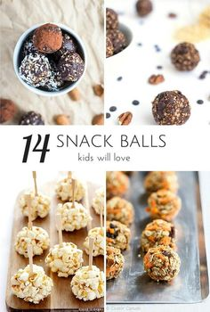 Delicious and filling energy snack balls kids and the whole family will enjoy.