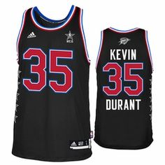 bf0be584 Oklahoma City Thunder adidas Kevin Durant #35 2015 All-Star Swingman Jersey  Western Conference