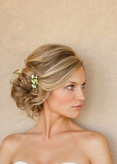 Wedding updo..probably wouldn't do a tease