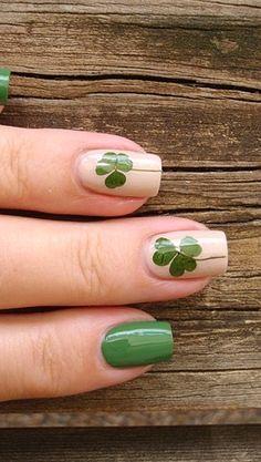 #Manucure #nails #nailart #StPatricksDay