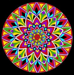"See Mandala 523 for this coloring page on my other board ""Mandala Coloring Pages."""