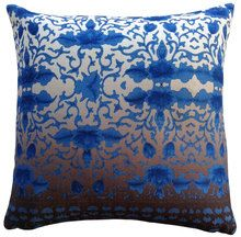 Cushion - From the floating world, Blue. kitchen