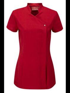 Johanna Cross Over Beauty Tunic Oriental Uniform For Therapist Nail Salon Spa - Black Vet Scrubs, Medical Scrubs, Doctor Scrubs, Spa Uniform, Scrubs Uniform, Beauty Tunics, Beauty Uniforms, Classy Suits, Medical Uniforms