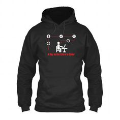 A Day in the Life of a Coder T-Shirt Hoodie Sweatshirts uiu. Check price ==► http://graphictshirts.xyz/?p=80404