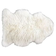 Check out this item at One Kings Lane! Curly Sheepskin Rug, Natural