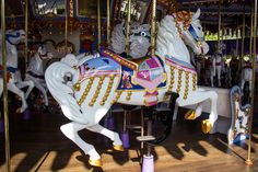 Jingles, the official lead horse on the King Arthur Carousel is a tribute to Mary Poppins' star Julie Andrews. | 21 Secrets Only An Eagle-Eyed Disneyland Fan Would Notice