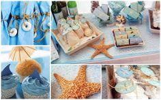 Sunny Sweet Life: Beach-Themed Party Ideas - napkin ring