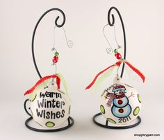 Snowman Christmas Ball Ornament.