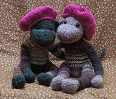 #KnittedSockMonkey #KellysSockMonkeyMania