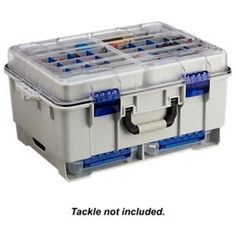 Flambeau Waterproof Satchel with Base Cage - 4000 Series w/ 2 Tuff Tainers