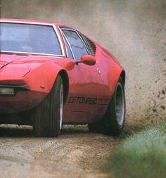 De Tomaso Pantera GTS - auto passion mars 1989.
