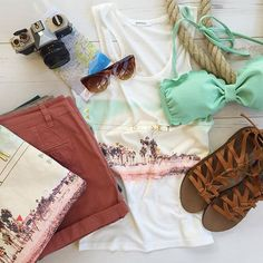 It's Friday! Summer kit by Promod #PromodBoutiqueFrançaise #NewIn #Summer