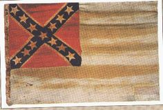 CSS Shenandoah flag ~ the last flag surrendered in the WBTS (War Between The States).