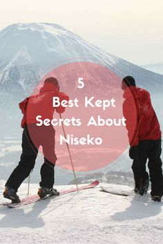 Escape the constant tourists chatter in Niseko and live like a local! It's time for us to share five of our best kept secrets about Niseko.