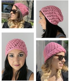 Free Patterns — Stitch & Hustle Crochet Stitches, Crochet Hooks, Free Crochet, Crochet Patterns, Single Crochet Stitch, Double Crochet, Lion Brand Patterns, Pumpkin Hat, Spring Hats
