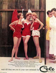 Cole Swimwear 1954