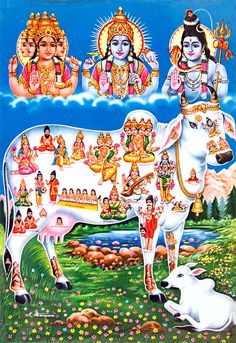 Brahma, Vishnu and Shiva are the main figures in this picture. They are the so-called Hindu-trinity. -Hinduism the eternal religion- Ganesha Art, Lord Ganesha, Lord Krishna, Baby Krishna, Radha Krishna Photo, Krishna Hindu, Krishna Leela, Shree Ganesh, Saraswati Goddess