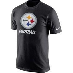 NFL Pittsburgh Steelers Nike Facility Black Shirt