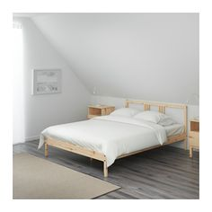 FJELLSE Bed frame IKEA Made of solid wood, which is a durable and warm natural material. $50