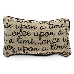 ''Once Upon a Time'' pillow (Prince not included)
