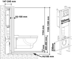 montaj wc suspendat cu rezervor si sistem evacuare ascunse in perete Small Bathroom Mirrors, Modern Bathroom, Bathroom Closet, Budget Bathroom, Bathroom Ideas, Bad Inspiration, Bathroom Inspiration, Bathroom Layout Plans, Bathroom Dimensions