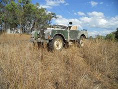 Land Rover series1 in Australia