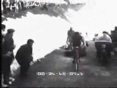Giro d' Italia 1956: Charly Gaul en Monte Bondone