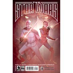 BEAUTIFUL COVER! The Star Wars Comic Book #1 (Forbidden Planet Variant)