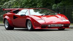1988 Lamborghini Countach - still beautiful after all these years!